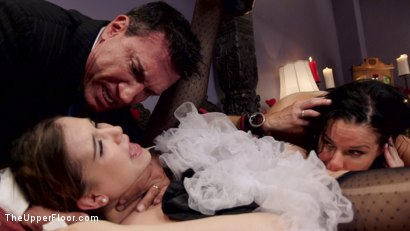 Photo number 19 from Nymphomaniac Slave Punished with Double Pounding shot for The Upper Floor on Kink.com. Featuring Veronica Avluv, Kasey Warner and Marco Banderas in hardcore BDSM & Fetish porn.