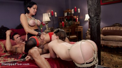 Photo number 20 from Nymphomaniac Slave Punished with Double Pounding shot for The Upper Floor on Kink.com. Featuring Veronica Avluv, Kasey Warner and Marco Banderas in hardcore BDSM & Fetish porn.