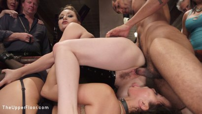 Photo number 7 from Fresh Pussy Slave Degraded and Brutally Fucked shot for The Upper Floor on Kink.com. Featuring Aiden Starr, Mickey Mod and Mia Austin in hardcore BDSM & Fetish porn.