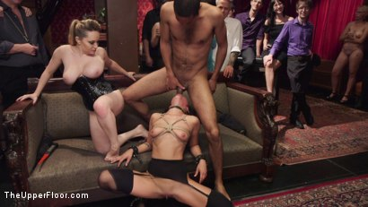 Photo number 15 from Fresh Pussy Slave Degraded and Brutally Fucked shot for The Upper Floor on Kink.com. Featuring Aiden Starr, Mickey Mod and Mia Austin in hardcore BDSM & Fetish porn.