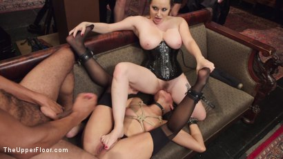 Photo number 4 from Fresh Pussy Slave Degraded and Brutally Fucked shot for The Upper Floor on Kink.com. Featuring Aiden Starr, Mickey Mod and Mia Austin in hardcore BDSM & Fetish porn.