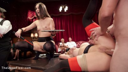 Photo number 15 from The Anal Initiation of Mystica Jade shot for The Upper Floor on Kink.com. Featuring Bill Bailey, Mystica Jade and Cherie Deville in hardcore BDSM & Fetish porn.