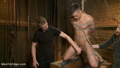 Photo number 1 from Party boy wakes up to find himself in a crucified edging shot for Men On Edge on Kink.com. Featuring Tyler Rush in hardcore BDSM & Fetish porn.