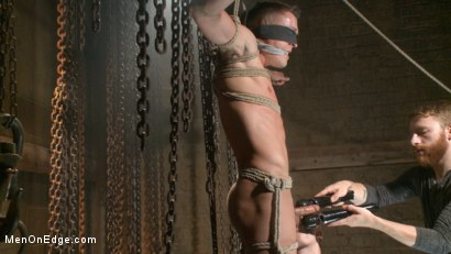 Photo number 12 from Party boy wakes up to find himself in a crucified edging shot for Men On Edge on Kink.com. Featuring Tyler Rush in hardcore BDSM & Fetish porn.