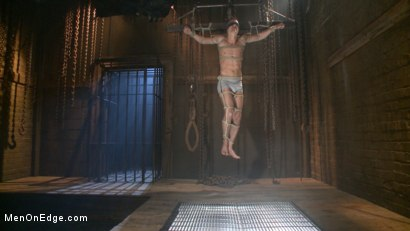 Photo number 17 from Party boy wakes up to find himself in a crucified edging shot for Men On Edge on Kink.com. Featuring Tyler Rush in hardcore BDSM & Fetish porn.