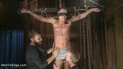Photo number 18 from Party boy wakes up to find himself in a crucified edging shot for Men On Edge on Kink.com. Featuring Tyler Rush in hardcore BDSM & Fetish porn.