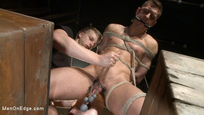 Photo number 9 from Party boy wakes up to find himself in a crucified edging shot for Men On Edge on Kink.com. Featuring Tyler Rush in hardcore BDSM & Fetish porn.