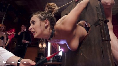 Photo number 8 from Fresh 19 Year Old Tied Tight and Made to Serve Orgy  shot for The Upper Floor on Kink.com. Featuring John Strong and Ashley Adams in hardcore BDSM & Fetish porn.