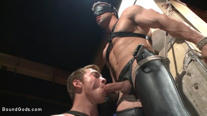 Photo number 1 from Casey More's Birthday Surprise shot for Bound Gods on Kink.com. Featuring Casey More and Connor Maguire in hardcore BDSM & Fetish porn.
