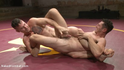 Photo number 6 from Jed Athens vs Logan Stone shot for Naked Kombat on Kink.com. Featuring Jed Athens and Logan Stone in hardcore BDSM & Fetish porn.