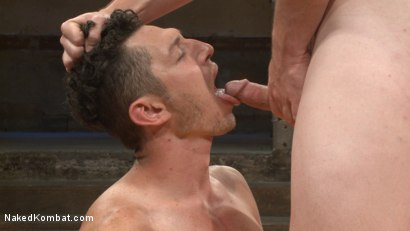 Photo number 9 from Jed Athens vs Logan Stone shot for Naked Kombat on Kink.com. Featuring Jed Athens and Logan Stone in hardcore BDSM & Fetish porn.