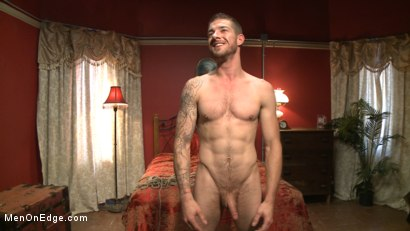 Photo number 15 from Ripped stud has his cock relentlessly edged after losing strip poker shot for Men On Edge on Kink.com. Featuring Tryp Bates in hardcore BDSM & Fetish porn.