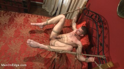 Photo number 9 from Ripped stud has his cock relentlessly edged after losing strip poker shot for Men On Edge on Kink.com. Featuring Tryp Bates in hardcore BDSM & Fetish porn.