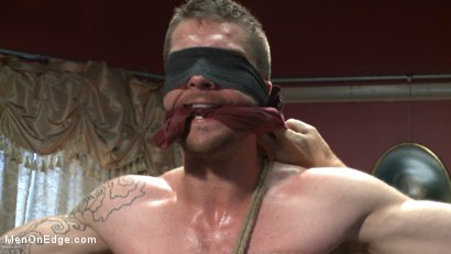 Photo number 2 from Ripped stud has his cock relentlessly edged after losing strip poker shot for Men On Edge on Kink.com. Featuring Tryp Bates in hardcore BDSM & Fetish porn.