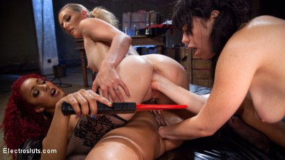 Photo number 11 from The Interrogation 2: Electro Sex Slave Punished shot for Electro Sluts on Kink.com. Featuring Mona Wales, Daisy Ducati and Siouxsie Q in hardcore BDSM & Fetish porn.