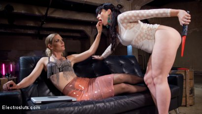 Photo number 5 from The Interrogation 2: Electro Sex Slave Punished shot for Electro Sluts on Kink.com. Featuring Mona Wales, Daisy Ducati and Siouxsie Q in hardcore BDSM & Fetish porn.