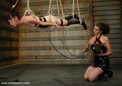 Photo number 9 from Lystra and Princess Donna Dolore shot for Wired Pussy on Kink.com. Featuring Lystra and Princess Donna Dolore in hardcore BDSM & Fetish porn.