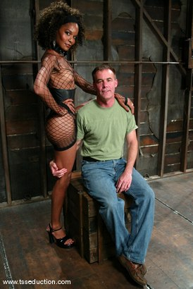 Photo number 1 from Wild Bill and Mistress Soleli shot for TS Seduction on Kink.com. Featuring Wild Bill and Mistress Soleli in hardcore BDSM & Fetish porn.
