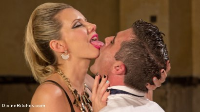 Photo number 1 from Simple Pleasures: A Femdom Surrealist Fantasy shot for Divine Bitches on Kink.com. Featuring Lance Hart and Maitresse Madeline Marlowe in hardcore BDSM & Fetish porn.