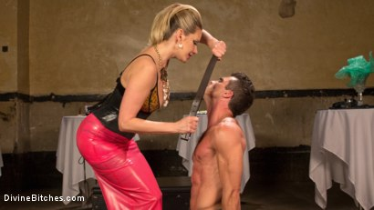 Photo number 12 from Simple Pleasures: A Femdom Surrealist Fantasy shot for Divine Bitches on Kink.com. Featuring Lance Hart and Maitresse Madeline Marlowe in hardcore BDSM & Fetish porn.
