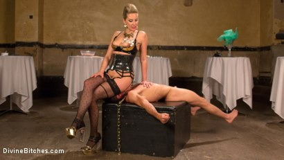 Photo number 13 from Simple Pleasures: A Femdom Surrealist Fantasy shot for Divine Bitches on Kink.com. Featuring Lance Hart and Maitresse Madeline Marlowe in hardcore BDSM & Fetish porn.