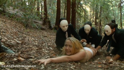 Photo number 1 from The Hunt shot for Sex And Submission on Kink.com. Featuring Chanel Preston, John Strong and Iris Rose in hardcore BDSM & Fetish porn.