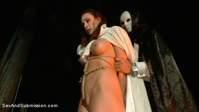 Photo number 10 from The Hunt shot for Sex And Submission on Kink.com. Featuring Chanel Preston, John Strong and Iris Rose in hardcore BDSM & Fetish porn.