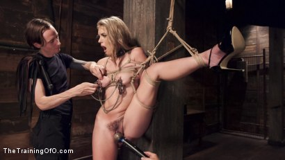 Photo number 11 from Hot Blonde Pussy Pounded: Day One shot for The Training Of O on Kink.com. Featuring Keira Nicole and Owen Gray in hardcore BDSM & Fetish porn.