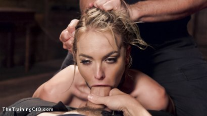 Photo number 8 from Hot Blonde Pussy Pounded: Day One shot for The Training Of O on Kink.com. Featuring Keira Nicole and Owen Gray in hardcore BDSM & Fetish porn.
