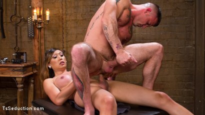 Photo number 11 from Mistress Venus Lux and Her Dominating Cock! shot for TS Seduction on Kink.com. Featuring Sergeant Miles and Venus Lux in hardcore BDSM & Fetish porn.