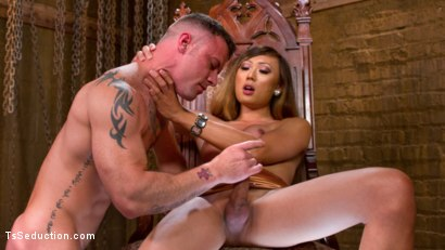 Photo number 13 from Mistress Venus Lux and Her Dominating Cock! shot for TS Seduction on Kink.com. Featuring Sergeant Miles and Venus Lux in hardcore BDSM & Fetish porn.