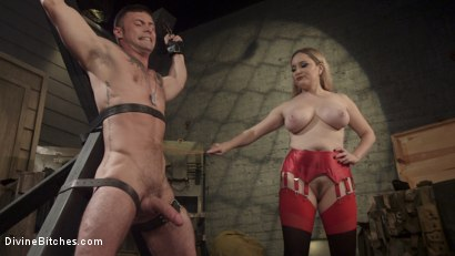 Photo number 7 from Aiden Starr Dominates Sexy Military Hard Ass shot for Divine Bitches on Kink.com. Featuring Aiden Starr and Sergeant Miles in hardcore BDSM & Fetish porn.