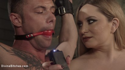 Photo number 14 from Aiden Starr Dominates Sexy Military Hard Ass shot for Divine Bitches on Kink.com. Featuring Aiden Starr and Sergeant Miles in hardcore BDSM & Fetish porn.