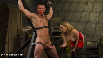 Photo number 12 from Aiden Starr Dominates Sexy Military Hard Ass shot for Divine Bitches on Kink.com. Featuring Aiden Starr and Sergeant Miles in hardcore BDSM & Fetish porn.