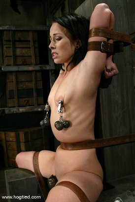 Photo number 12 from Alexa Von Tess shot for Hogtied on Kink.com. Featuring Alexa Von Tess in hardcore BDSM & Fetish porn.