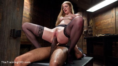 Photo number 9 from Trained to Fuck with All Holes Filled shot for The Training Of O on Kink.com. Featuring Ela Darling and Mickey Mod in hardcore BDSM & Fetish porn.