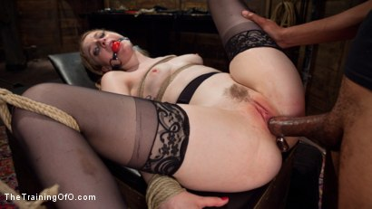 Photo number 14 from Trained to Fuck with All Holes Filled shot for The Training Of O on Kink.com. Featuring Ela Darling and Mickey Mod in hardcore BDSM & Fetish porn.