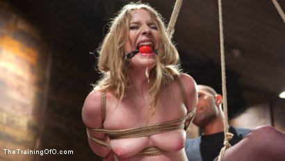 Photo number 5 from Trained to Fuck with All Holes Filled shot for The Training Of O on Kink.com. Featuring Ela Darling and Mickey Mod in hardcore BDSM & Fetish porn.