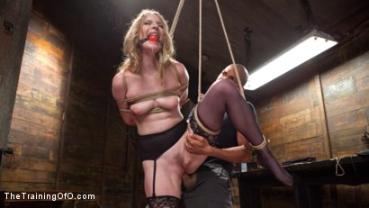 Photo number 3 from Trained to Fuck with All Holes Filled shot for The Training Of O on Kink.com. Featuring Ela Darling and Mickey Mod in hardcore BDSM & Fetish porn.