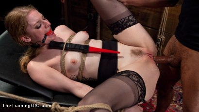 Photo number 12 from Trained to Fuck with All Holes Filled shot for The Training Of O on Kink.com. Featuring Ela Darling and Mickey Mod in hardcore BDSM & Fetish porn.