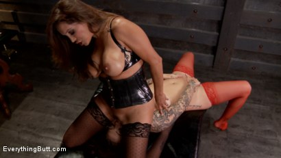 Photo number 13 from Beautiful Karmen Karma pushes her Anal Boundaries Only for EverythingButt shot for Everything Butt on Kink.com. Featuring Francesca Le  and Karmen Karma in hardcore BDSM & Fetish porn.