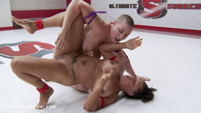 Photo number 11 from Welter Weight Season 12 championship Bout shot for Ultimate Surrender on Kink.com. Featuring Izamar Gutierrez and Mistress Kara in hardcore BDSM & Fetish porn.