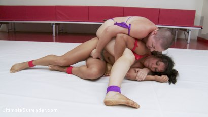 Photo number 5 from Welter Weight Season 12 championship Bout shot for Ultimate Surrender on Kink.com. Featuring Izamar Gutierrez and Mistress Kara in hardcore BDSM & Fetish porn.