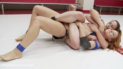 Photo number 6 from Brutal Leg Scissors, Brutal Double Control.Both girls Finger Hard shot for Ultimate Surrender on Kink.com. Featuring Bella Rossi and Cheyenne Jewel in hardcore BDSM & Fetish porn.