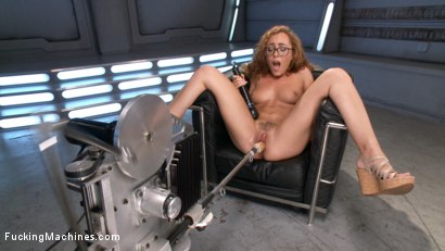 Photo number 2 from Tanned-Nubile-LA-Cum-Princess, Roxanne Rae Devours Fucking Machines!! shot for Fucking Machines on Kink.com. Featuring Roxanne Rae in hardcore BDSM & Fetish porn.