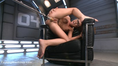 Photo number 3 from Tanned-Nubile-LA-Cum-Princess, Roxanne Rae Devours Fucking Machines!! shot for Fucking Machines on Kink.com. Featuring Roxanne Rae in hardcore BDSM & Fetish porn.