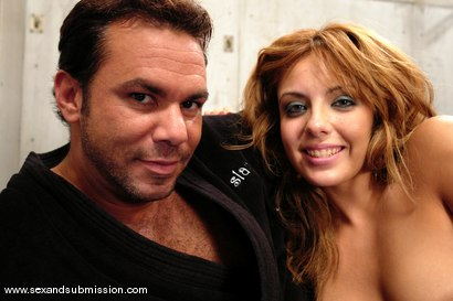 Photo number 15 from Repeated Offender shot for Sex And Submission on Kink.com. Featuring Steven St. Croix and Lorena Sanchez in hardcore BDSM & Fetish porn.