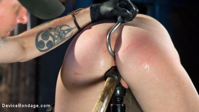 Photo number 10 from The Destruction of Ashley Lane shot for Device Bondage on Kink.com. Featuring Ashley Lane and The Pope in hardcore BDSM & Fetish porn.
