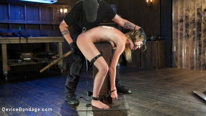 Photo number 13 from The Destruction of Ashley Lane shot for Device Bondage on Kink.com. Featuring Ashley Lane and The Pope in hardcore BDSM & Fetish porn.