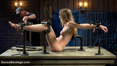 Photo number 15 from The Destruction of Ashley Lane shot for Device Bondage on Kink.com. Featuring Ashley Lane and The Pope in hardcore BDSM & Fetish porn.